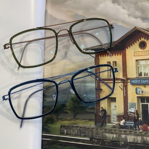 Nieuwe bril van Lindberg bij Zuidweg Oogcontact in Papendrecht.